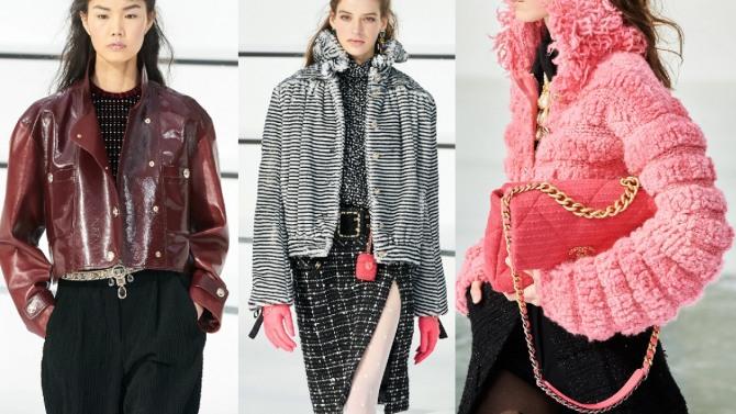 куртки от Chanel на сезон Осень-Зима 2020 2021