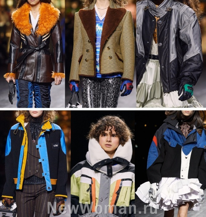 брендовые женские куртки 2021 года от Louis Vuitton - Париж