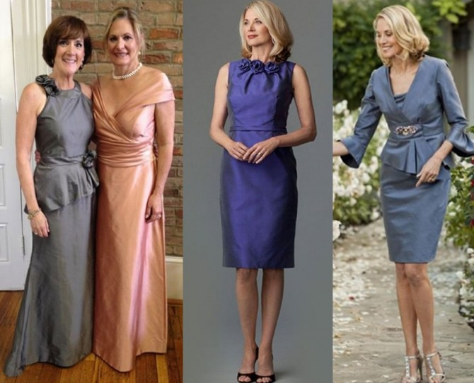 фото нарядов мамы жениха - фасоны платьев 2021 года