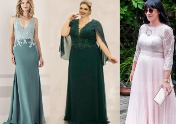 Фото красивых платьев и костюмов 2021 года - для мамы жениха или невесты
