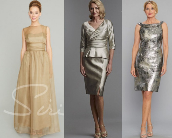 как красиво и элегантно одеться на свадьбу дочери в 2021 году - фото платьев