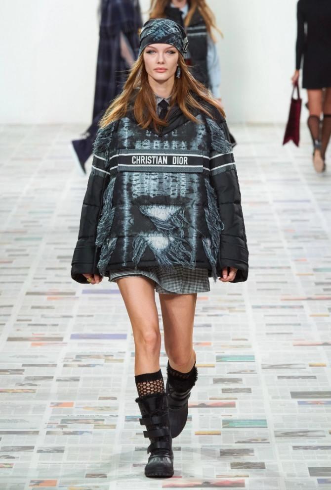 женская куртка-анорак 2021 года - модель от модного дома Christian Dior