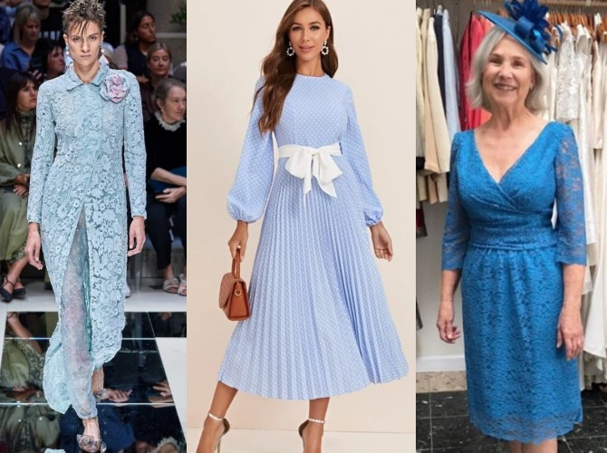 как одеться на свадьбу внука, внучки, сына, дочки - фото нарядов
