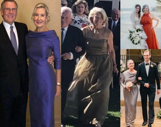 свадебные наряды для мамы жениха или невесты - идеи фасонов платьев для свадьбы