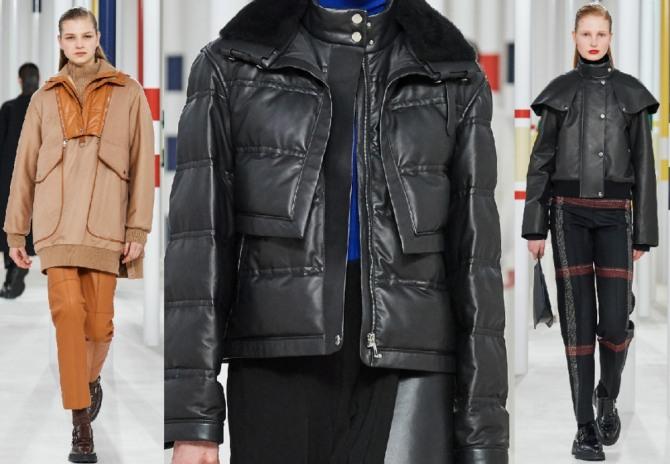 высокая мода от французских кутюрье - куртки с миланского показа осень-зима 2020-2021 от Hermès