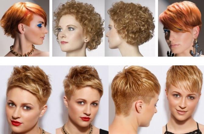 стильные женские стрижки для волос рыжего цвета - модели для гладких и вьющихся волос