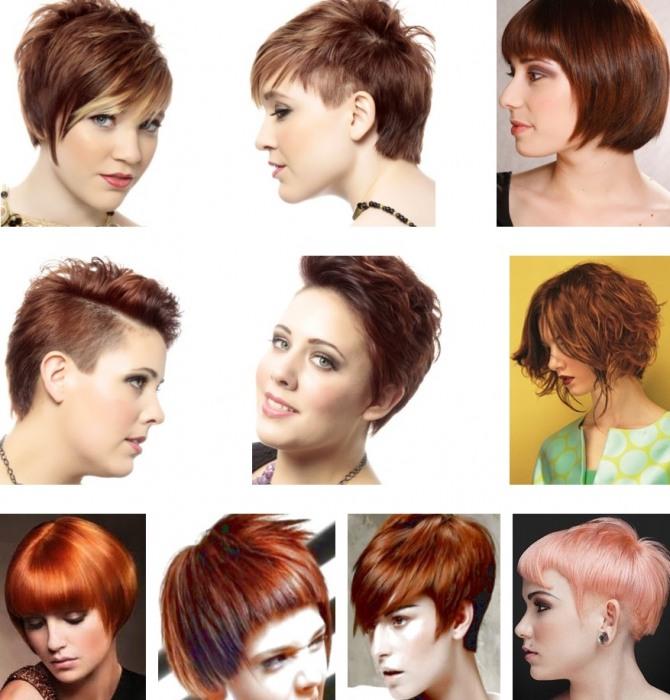 стрижки для девушек и женщин с рыжим цветом волос - тренды начала 20 века