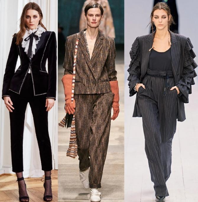 Женские брендовые комплекты 2021 года с брюками