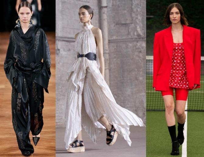 женские костюмы для особого случая - нарядная вечерняя мода 2021 года