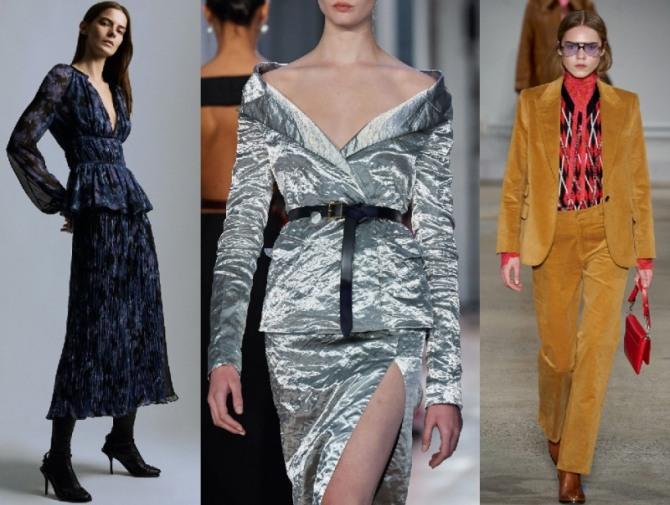наряд для торжества с брюками - женская мода 2021 года, образы для вечернего выхода
