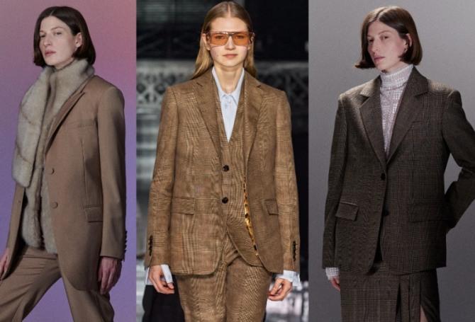 модные тенденции 2021 года в сегменте женских костюмов - мужской пиджак