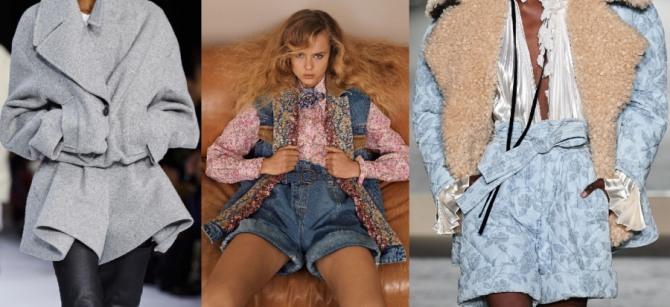 весенняя и летняя мода 2021 года для девушек - костюмы с шортами с модных показов