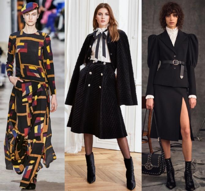 Женские брендовые комплекты 2021 года с юбкой - фото