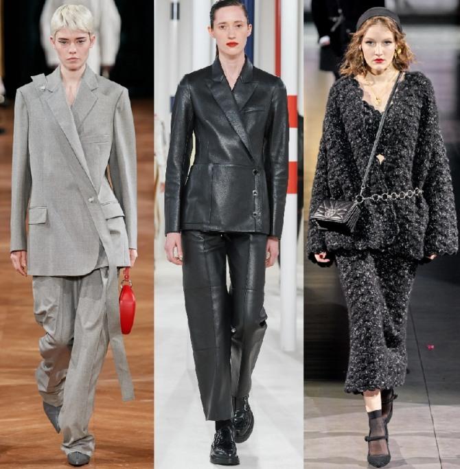 модный тренд 2021 года - жакеты с запахом
