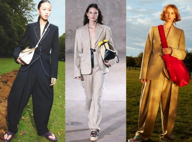ультра модные женские костюмы 2021 года с удлиненными пиджаками
