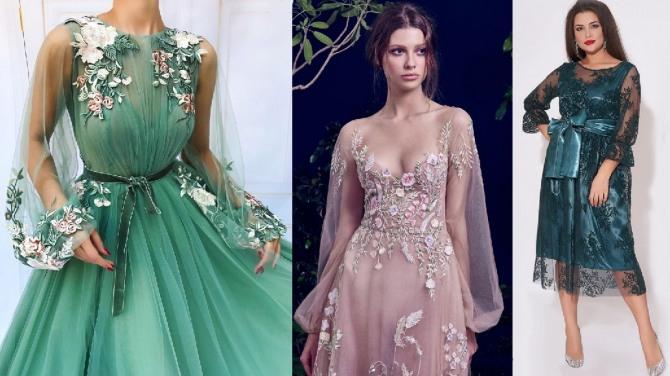 новогоднее люксовое платье по знаку гороскопа Козерог - для девушек и женщин