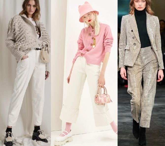 уличная мода для девушек на весенне-летний сезон 2021 года - комплекты с брюками длиною 7/8