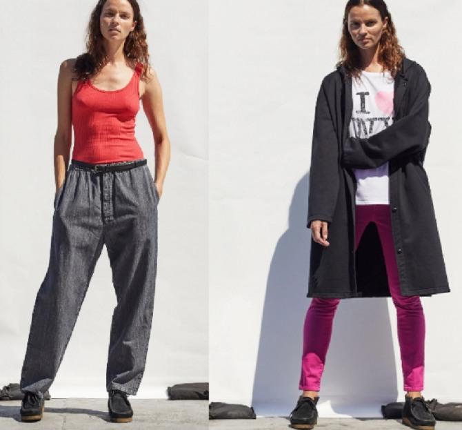 топы, футболки и брюки с модных показов весна-лето 2021 года - фото