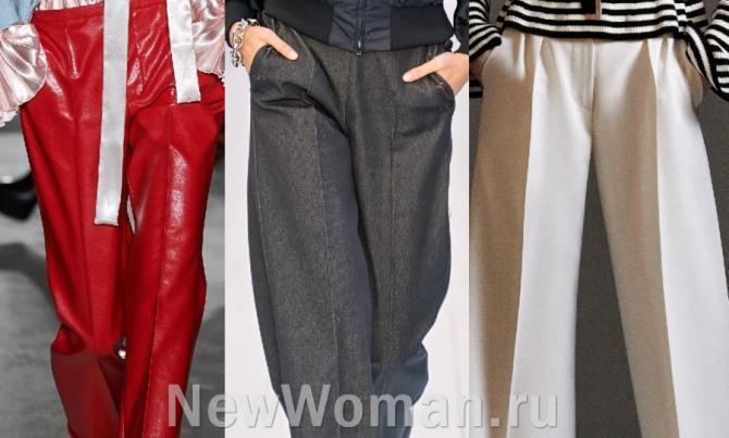 модные женские модели брюк со стрелками - фото тенденций на 2021 год по итогам модных показов